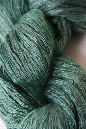 Artyarns Ensemble Glitter Light 918G Girl Scout Greens with Gold