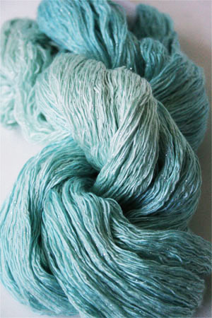Artyarns Ensemble Glitter Light 2204S Aqua Splash with Silver
