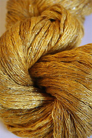 Artyarns Ensemble Glitter Light Yarn silk & Cashmere Yarn in H8S Gold with Silver