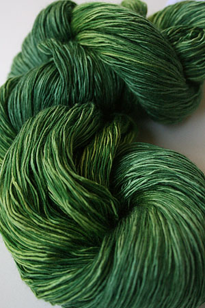 artyarns ensemble silk light in H2 Lime Green