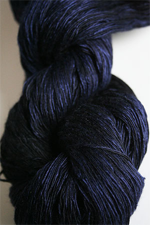 Artyarns Ensemble Light silk & Cashmere Yarn H21 Inky Blues