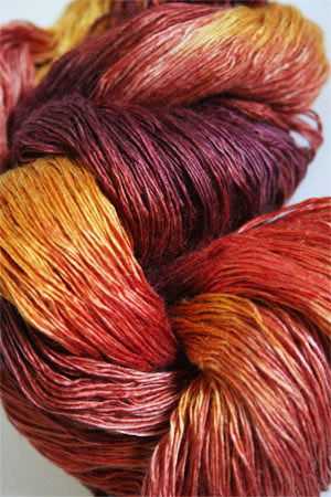 artyarns ensemble silk light in F4 Leaf Peeper