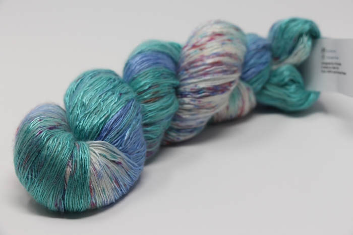 artyarns ensemble light | 603 Colorburst Blue