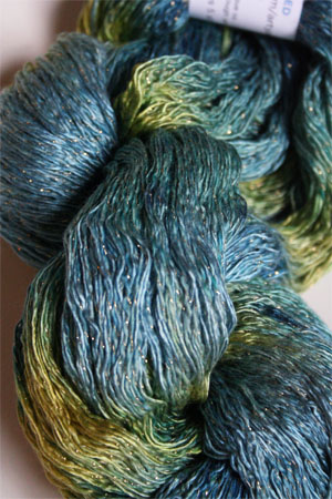 Artyarns Ensemble Glitter Light Yarn silk & Cashmere Yarn in H34 Paradise - Gold