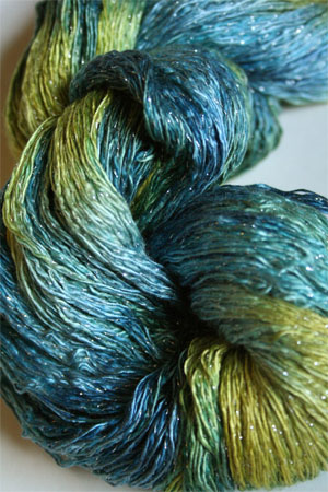 Artyarns Ensemble Glitter Light Yarn silk & Cashmere Yarn in H34 Paradise - Silver