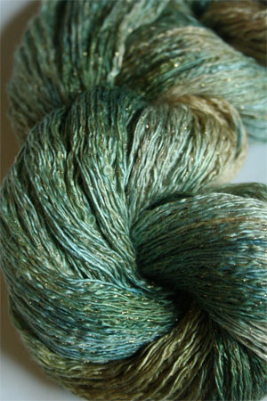 Artyarns Ensemble Glitter Light Yarn silk & Cashmere Yarn in H33 Gold Rushes
