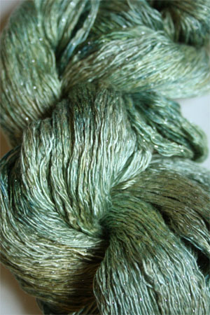 Artyarns Ensemble Glitter Light Yarn silk & Cashmere Yarn in H33 Silver Rushes