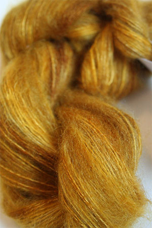 Artyarns HALO Slik and Mohair Knitting Yarn in H8 Gold