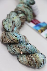 Artyarns Bssqlt - Inspiration Club - MAY - UNDER THE SEA - Beaded Silk Sequins Light