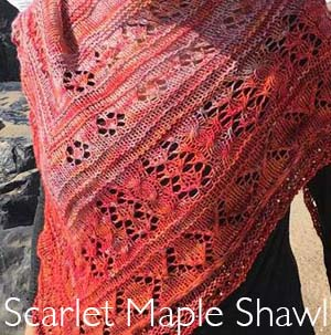 Changing Skies Shawl
