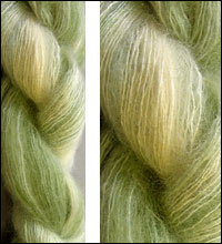 Artyarns Mohair Silk Yarn 412 Forest