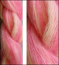Artyarns Mohair Silk Yarn 413 Pink