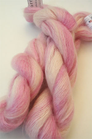Artyarns Mohair Yarn in 413 Candy Stripe Pink