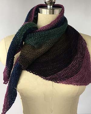ARTYARNS KIT - Cashmere Triangle Shawl