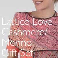 LATTICE LACE GIFT SET