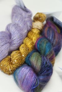 Artyarns Holiday Shawl Kit