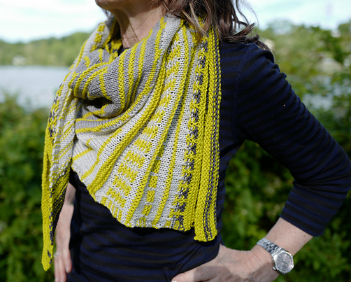 Showstopper Shawl