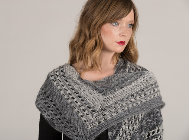 ARTYARNS KIT - Winters Breath Wrap Shawl