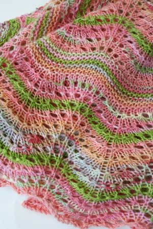 Knit Version of the Cashmere Baby Blanket