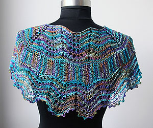 Colorgames Shawl Pattern version 2