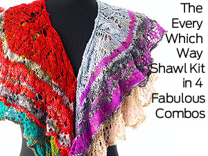 Every Which Way Shawl