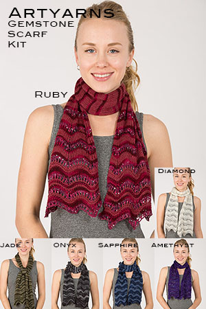 Gemstone Scarf Kit