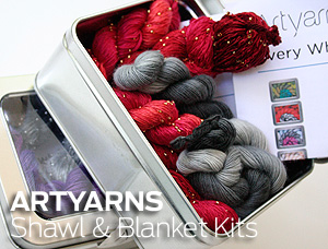 Artyarns Shawl and Blanket Kits