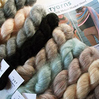 Artyarns Silk Mohair Shawl Kit