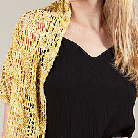 Artyarns Suncatcher Shawl kit: in Ensemble Light or Ensemble Glitter Light