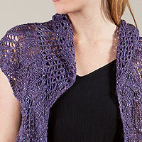 Artyarns Mayday Shawl kit: in Ensemble Light or Ensemble Glitter Light