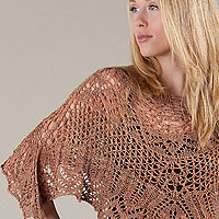 Artyarns Mayday Poncho kit: in Ensemble Light or Ensemble Glitter Light