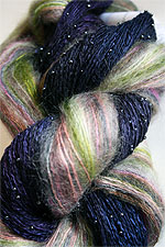 Mohair Shawl Kit from artyarns in Naturals
