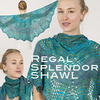 Artyarns Regal Silk Regal Splendor Shawl kit