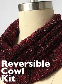 Reversible Cowl Kit from Artyarns