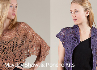 Mayday Shawl and Poncho Patterns
