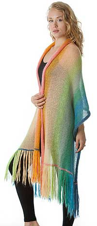 Mohair Shawl or Blanket Kit