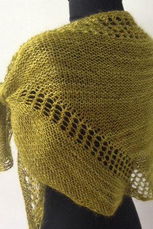Artyarns Triangulation Shawl P144