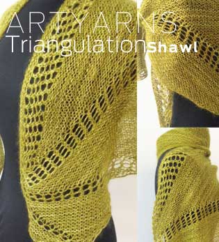 Triangulation Shawl Kit