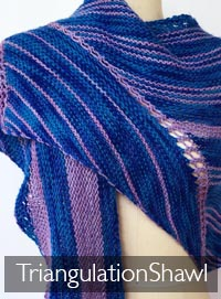 TRIANGULATION Shawl