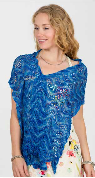 Artyarns Waves of Glory Shawl Pattern