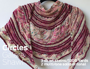Circles Galore Shawl