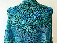 ARTYARNS Regal Splendor shawl