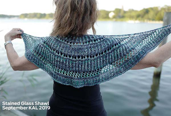 ARTYARNS KIT - Stained Glass Brioche Shawl