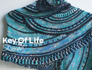 Key of Life Shawl