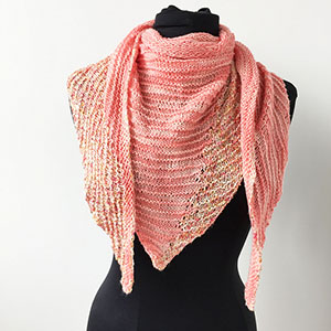 Lazy Days of Summer KAL with Merino Cloud & Beaded Silk & Sequins!