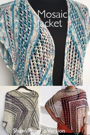ARTYARNS Mosaic Jacket or shawl