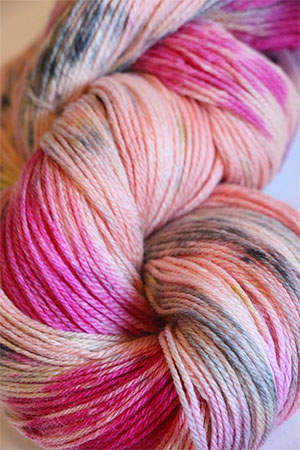 artyarns Merino Cloud | 606 Peach Floral
