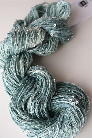 Beaded Silk and Sequins Light in 1004 Silver Artyarns