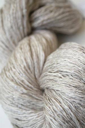 Artyarns Ensemble Glitter Light Yarn silk & Cashmere Yarn in 257 Silver and 919 Gold