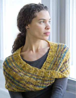 Striped Mobius Knitting Pattern